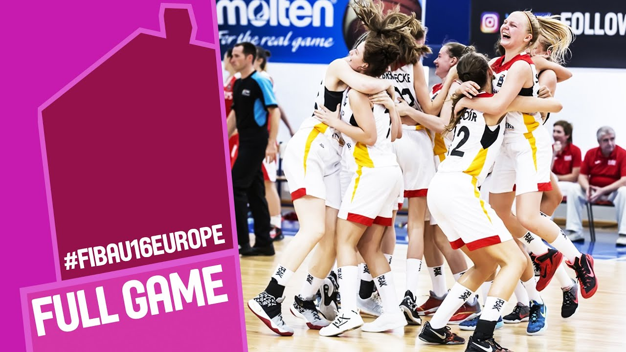 Germany v Belarus - Full Game - Quarter Final - FIBA U16 Women's European Championship 2016