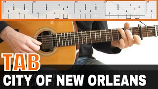 City Of New Orleans Guitar Tab