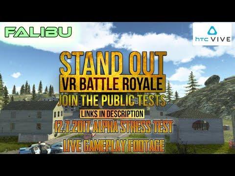 Falibu - Stand Out: VR Battle Royale [Alpha STRESS TEST]