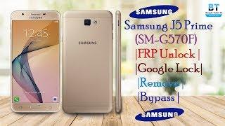 Samsung G570F Google Account Bypass