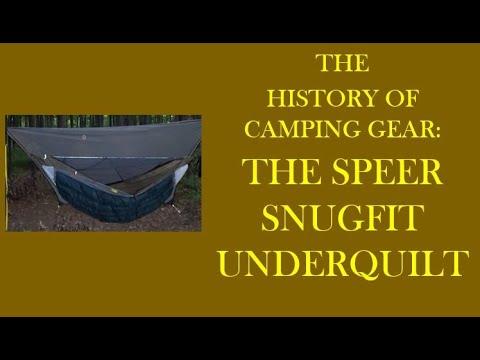 Hammock Hanging History ---The Speer Snugfit