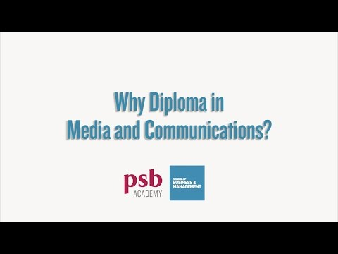 Why Diploma in Media and Communications? | School of Business & Management