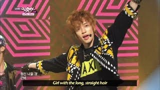 [Music Bank w/ Eng Lyrics] Teen Top - Miss Right (2013.04.13)