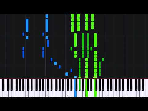 Overdose - EXO [Piano Tutorial] (Synthesia) // ATs Magic Shop