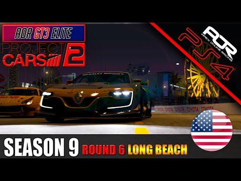 AOR GT3 Elite Championship Season 9 Round 6 @ Long Beach w/Commentary