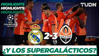Highlights | Real Madrid 2-3 Shaktar | Champions League 2020/21 - J1 | TUDN