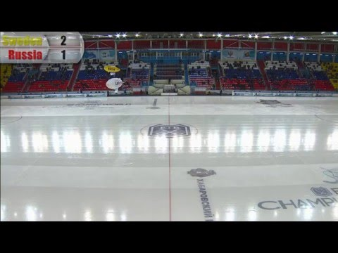 Final: Sweden - Russia  (Bandy world championship, Khabarovsk)