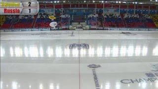 Final: Sweden - Russia  (Bandy world championship, Khabarovsk)