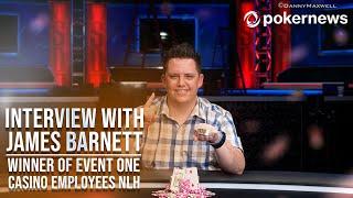2021 WSOP Interview With Bracelet Winner Casino Employees Event #1