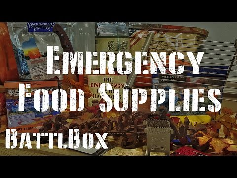 Emergency Food Supplies: Battlbox Mission 9 Review