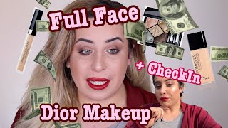 😱 FULL FACE ONLY USING DIOR MAKEUP 💰 Jolina Mennen
