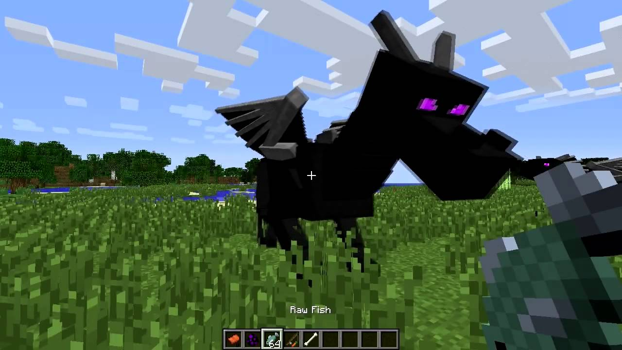 Minecraft ENDER DRAGON Mod Episode 974 YouTube