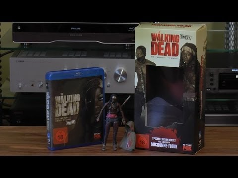 Unboxing: The Walking Dead Staffel 3 Michonne Special Edition