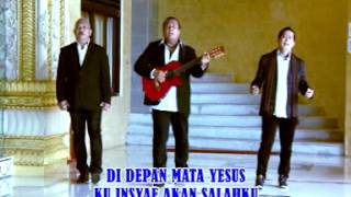 Download lagu Amigos Trio - Di depan mata Yesus (Official Lyric Video)