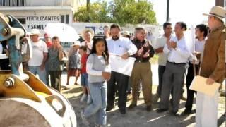 Video-nota Arranque de Pavimentación de Calle en La Muralla