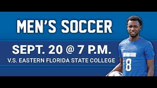 DSC Men's Soccer vs. Eastern Florida State College 9/20