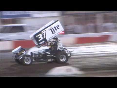 Sprintcars @ Silver Dollar Speedway 9 9 15 part 1