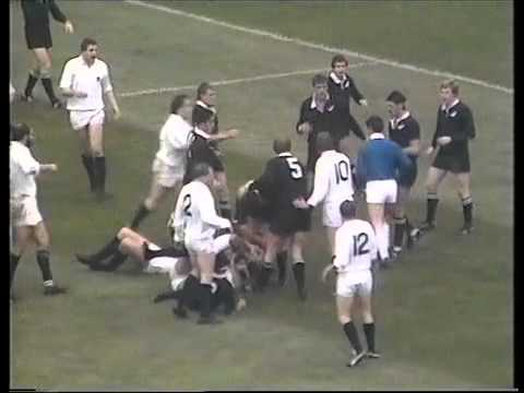 Rarely seen footage of the 25-25 draw between Scotland and New Zealand in 1983.