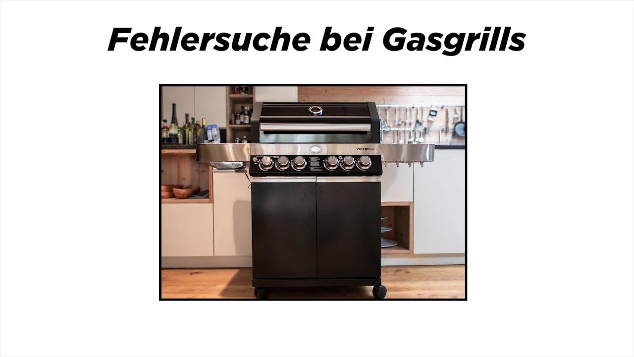 Rösle Gasgrill Porta : Hilfe bei der fehlerbehebung bei gasgrill stationen youtube