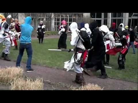 Templar Takedown Anime Boston 2012