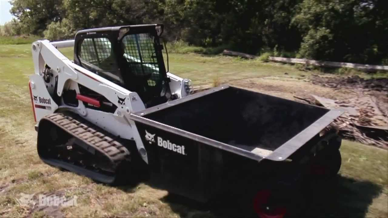Dumping Hopper Video Dumper Bobcat Loader Attachments