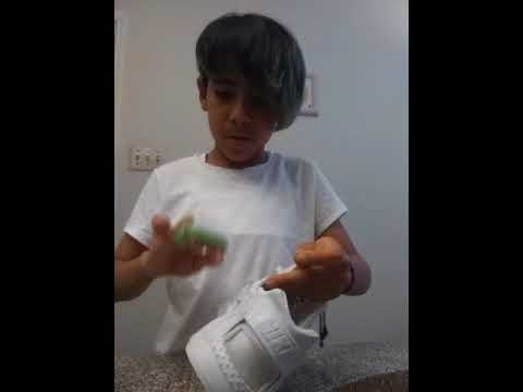 How to clean white huaraches