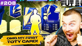 FIFA 21 OMG I GOT MY FIRST INSANE TOTY ATTACKER ON MY RTG! MY NEW SUPERB TOTY FUT CHAMPIONS SQUAD!