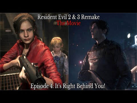 Resident Evil 2 3 Remake The Movie Part 4 Chronological Order