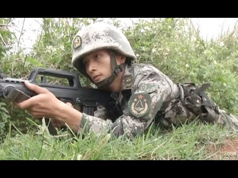 Chinese Troop Holds Live Fire Drill to Increase Combat Readiness