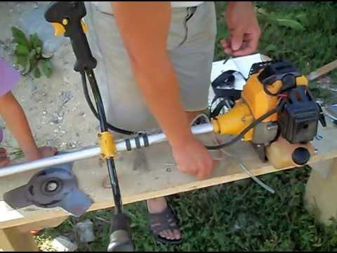 Ремонт стартера мотокосы, триммера - YouTube