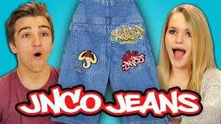 TEENS REACT TO 90s FASHION - JNCO JEANS Top 10 Video