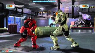 Dead Or Alive 4 Red Vs Green Spartan 458 Gameplay Watch Mode Xbox 360