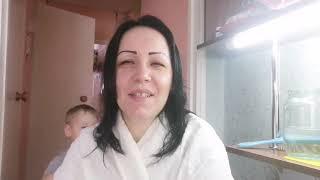 Влог Жизнь многодетной мамы Маска для волос и лица Прогулка
