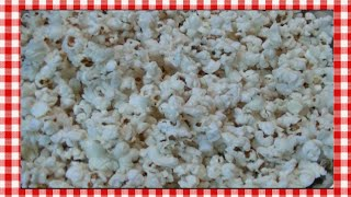 How To Make Old Fashioned Popcorn On The Stove ~ Noreen's Kitchen Basics