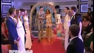Показ свадебных платьев на ПравДиво шоу с Евой Бажен