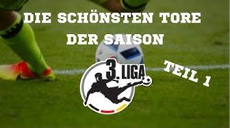 3. Liga | Die schönsten Tore der Saison 2018/19 - TEIL 1