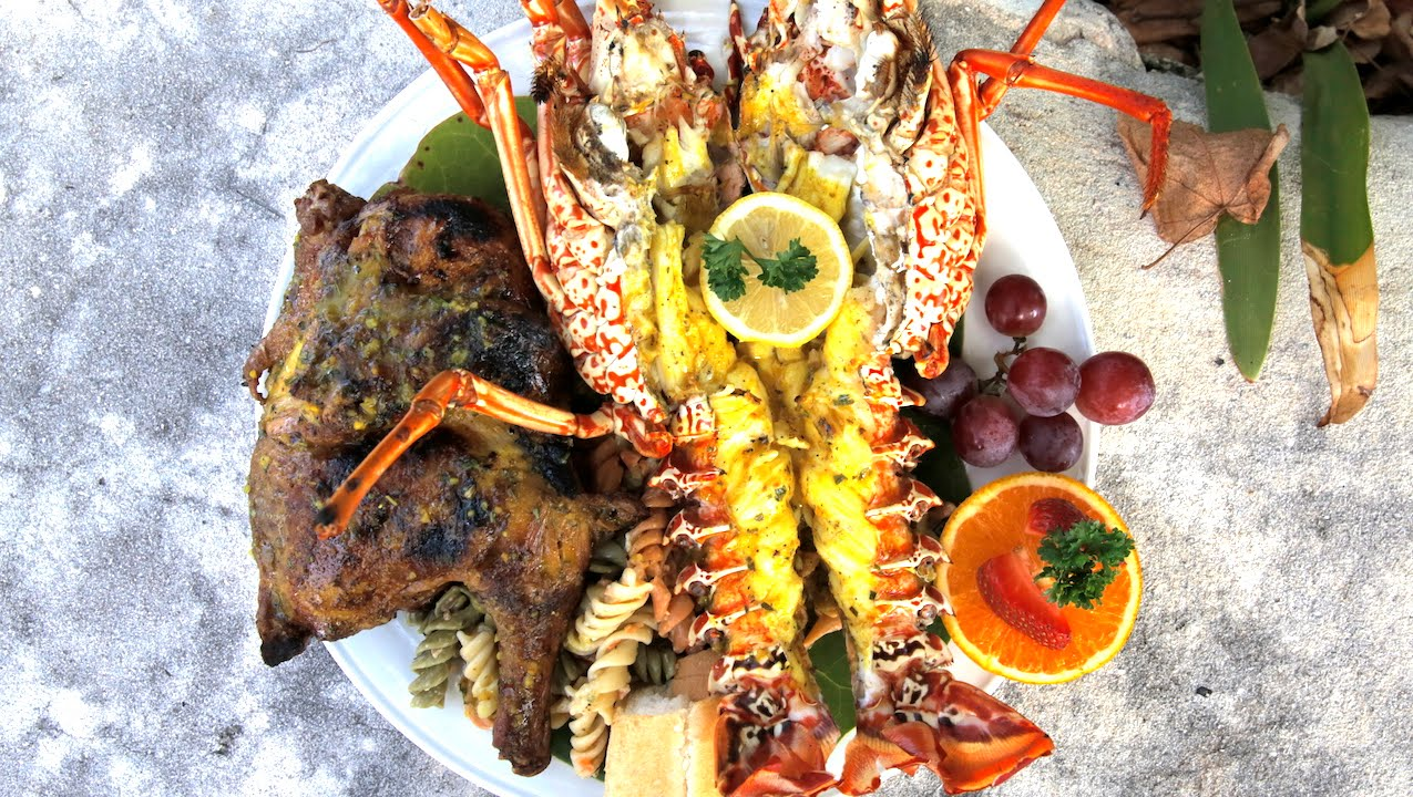 Diving into caribbean seafood in anguilla youtube for Anguille cuisine