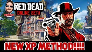 **NEW XP** Method in Red Dead Redemption 2 Online (XP,GLITCH,EXPLOIT)