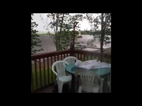 Waterspout REAL close to New Brunswick...