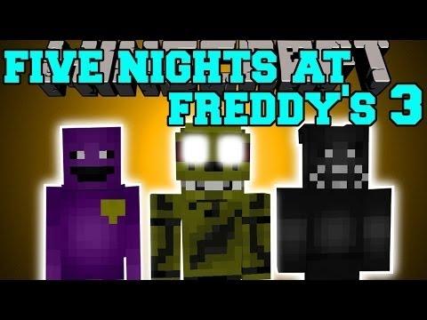 Майнкрафт моды 5 Ночей с Фредди