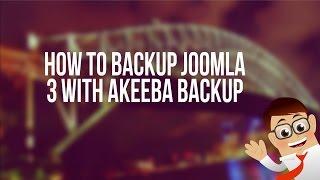 видео Akeeba Backup плагин для Joomla. Архивирование, защита и перенос сайта.