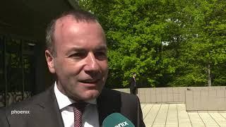 Interview mit Manfred Weber zum EU-Gipfel in Sibiu am 09.05.19