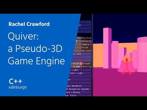 C++ Edinburgh: Rachel Crawford — Quiver: a Pseudo-3D Game Engine