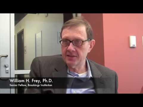02/2/10 - William Frey discusses Las Vegas' changing population (Part 1)