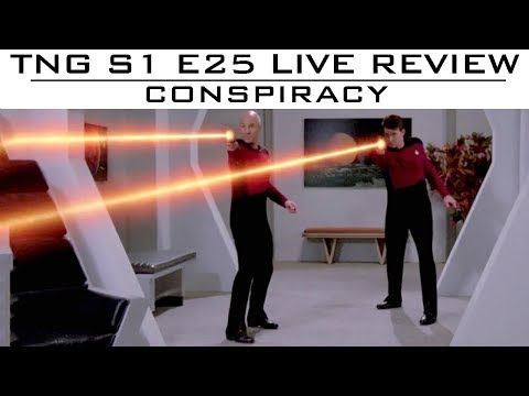 """TNG Episode Review Of """"Conspiracy"""""""