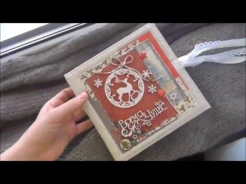 Зимний альбом для фото Скрапбукинг LittleКабанчик