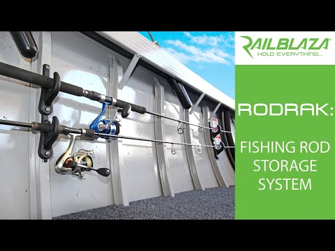 RODRAK  | Fishing Rod Storage Solution