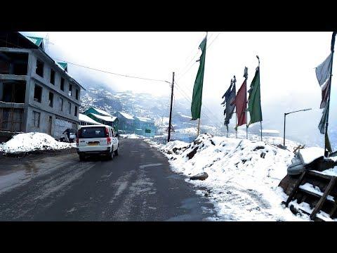 Gangtok to Nathula Changu Baba-Mandir Winter Trip 2017 | Part 1 | Up To Tsomgo Lake