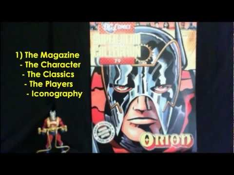 "Issue 79 - Orion ""MonkeyBoy"" Reviews DC Comics Super Hero Collection by Eaglemoss"