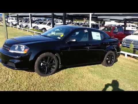 All New 2014 Blacktop Dodge Avenger